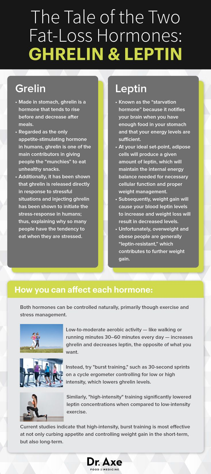 Learn about the important hormones for #losingweight