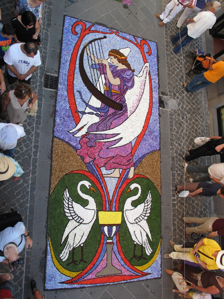 "Bolsena - ""Infiorata"" del Corpus Domini - Year 2011"