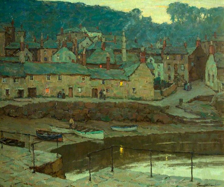 Evening; Mousehole, Cornwall by Terrick John Williams