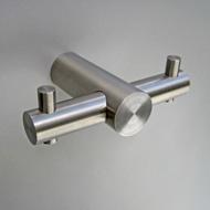 NEU: Garderobenhaken Edelstahl Design HG 18-62D
