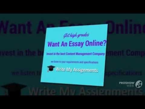 Online Essay Writer Service