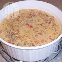 Photo de recette : Trempette au fromage à la crème et à la saucisse