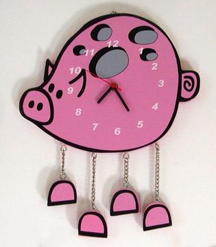 Piggy Clock