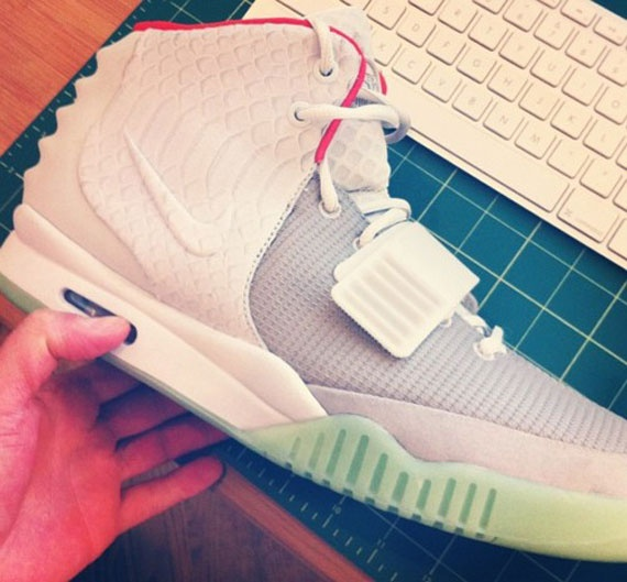 Nike Air Yeezy 2 Wolf Grey/Pure Platinum #shoes #sneakers
