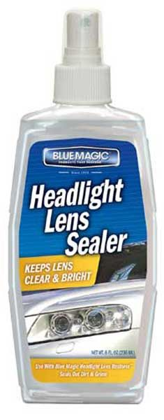 #autoparts Blue Magic Headlight Lens Sealer 8 oz: Simply wipe on and off No special tools required Keeps lens clear and… #carparts #spares