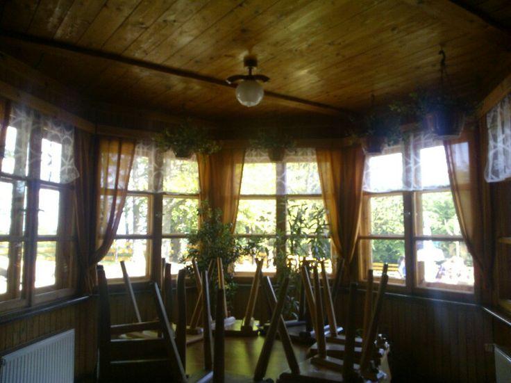 #bielskobiala inside Little house in the mountains.