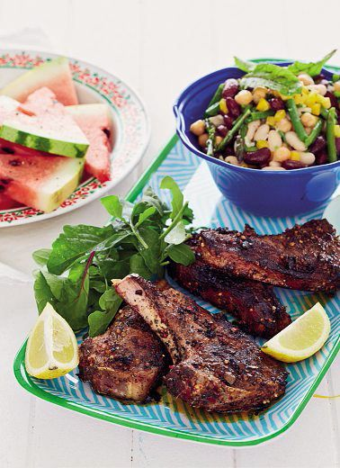 Spicy lamb chops | Food & Recipies | Pinterest | Dishes, Spicy and ...