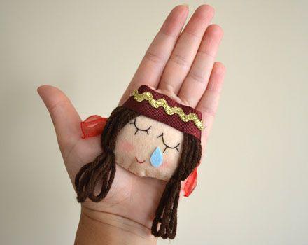 Kına el maskotu