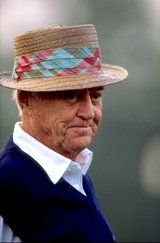 My boss talks about this guy a lot. Sam Snead. Why do they wear those Easter bonnets? I'll never know.