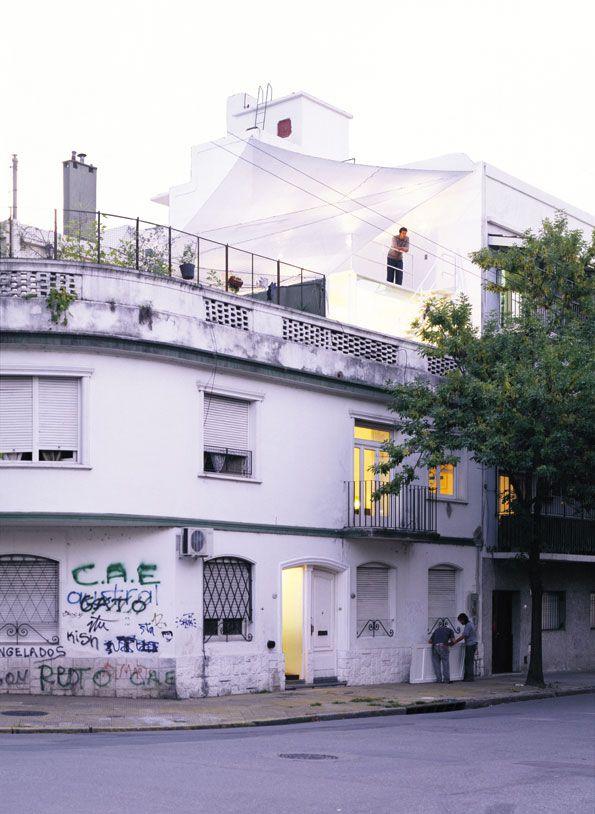 ampliación casa Núñez. CABA, Argentina (2009)