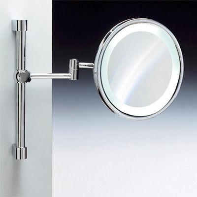 Windisch by Nameeks Wall Mounted Round Magnifying Mirror Finish: Chrome