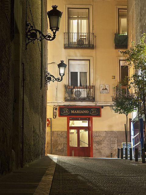 Barrio de las Letras, Madrid_ Spain