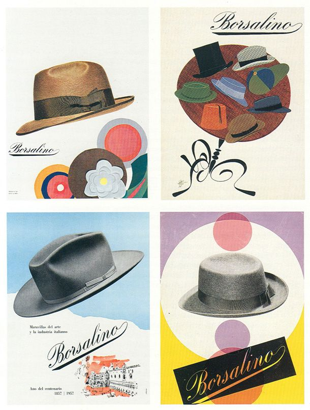Ever since 1857, when two brothers named Giuseppe and Lazzaro first created this iconic Italian hat in Via Schiavina in Alessandria, the Borsalino has fascinated stylish men and women. Description from ganzomag.com. I searched for this on bing.com/images