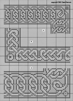 celtic knitting charts - Google Search