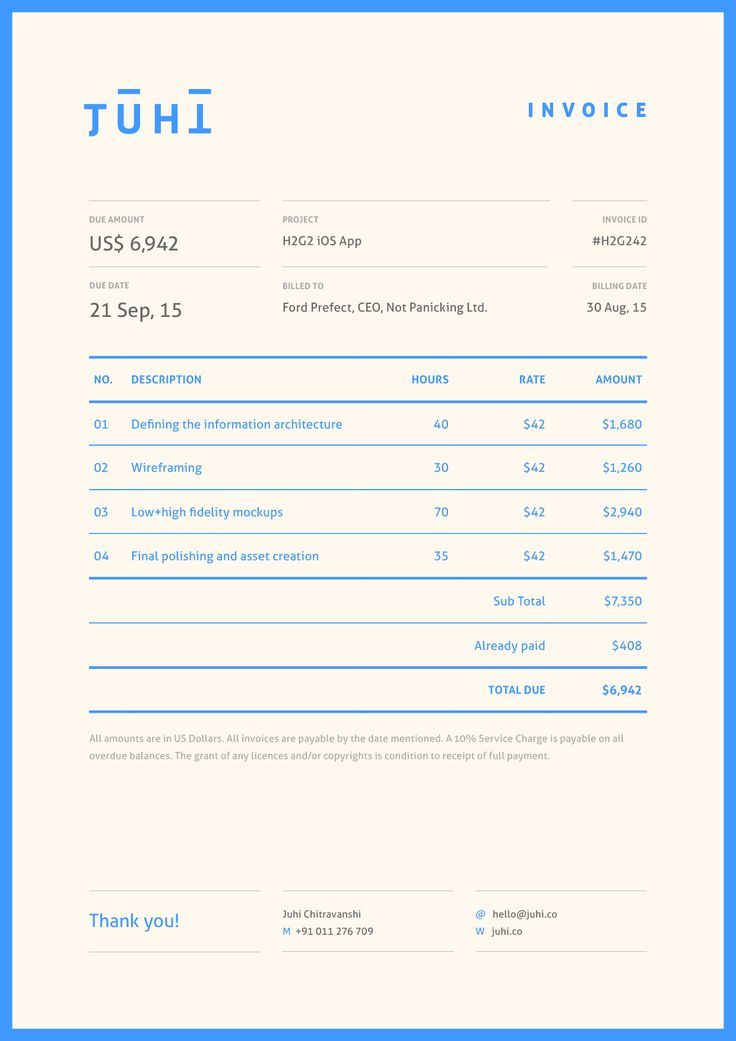 20 best Invoices inspiration images