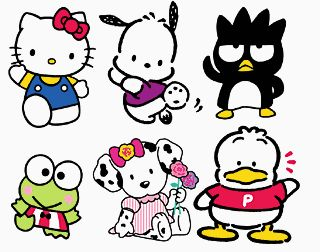 Hello Kitty, Pochacco, Badtz Maru, Keroppi, Spottie Dottie, and Pekkle... memories of weekends spent after grocery shopping running to the school supplies store to look for new hello kitty items