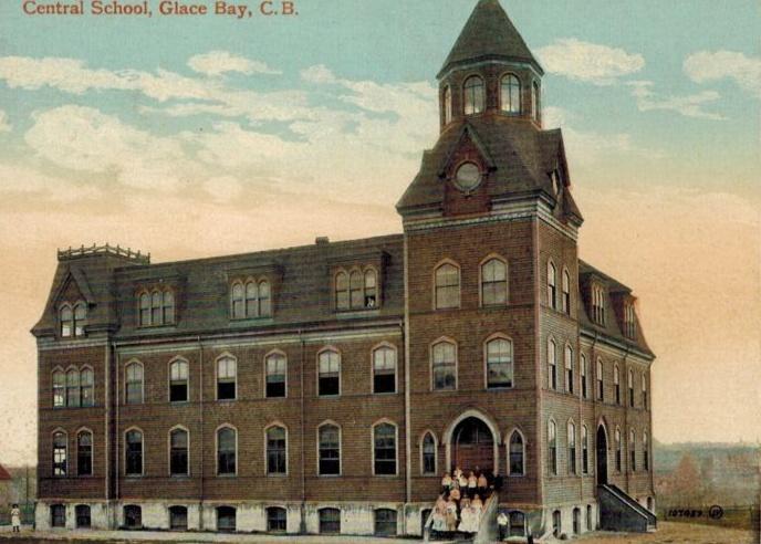 Central School Glace Bay-Cape Breton-1907-1919 http://CaperMemories.Com