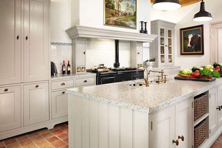 Keuken met kookeiland en tafel google search woonkeuken pinterest van met and search - Kookeiland tafel ...