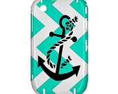 NEW Neptunian Anchor Chevron BlackBerry Curve 8520 9300 Hardshell Case Cover BB Curve 8520 9300 Case - Available for other type of BB