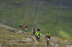 Skibotn and the Lyngenfjord region offers a lot of different trails for mountainbikers