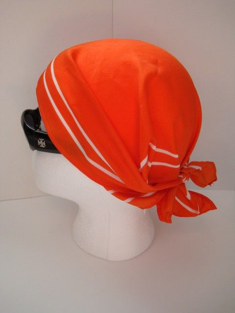 Vintage Brownies Orange Scarf 1980s Girl Guides of Canada Designed by Alfred Sung