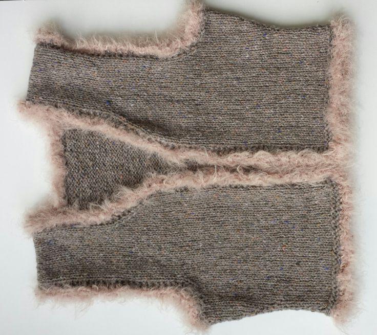 Mouwloos vestje Peppina, gratis patroon
