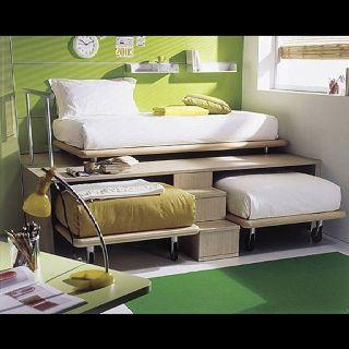 Love this space saving idea again from DIY