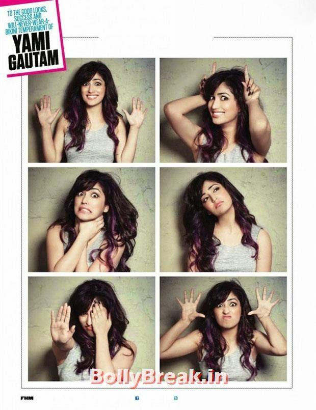 (4) Yami Gautam Hottest Pics Ever - FHM Magazine Photos - Navel Show - Check out Hot Images of Yami Gautam from FHM Magazine. Yami Gautam has beautiful ads, navel area, and she is flaunting her Belly Button in these Pics from FHM Magazine. Yami Gautam is popular for her movie Vicky Donor, in which Yami  Gautam Kiss with Ayushman was hot. , #covergirl #magazinescans #fhm #bollybreakspecial #yamigautam #navel