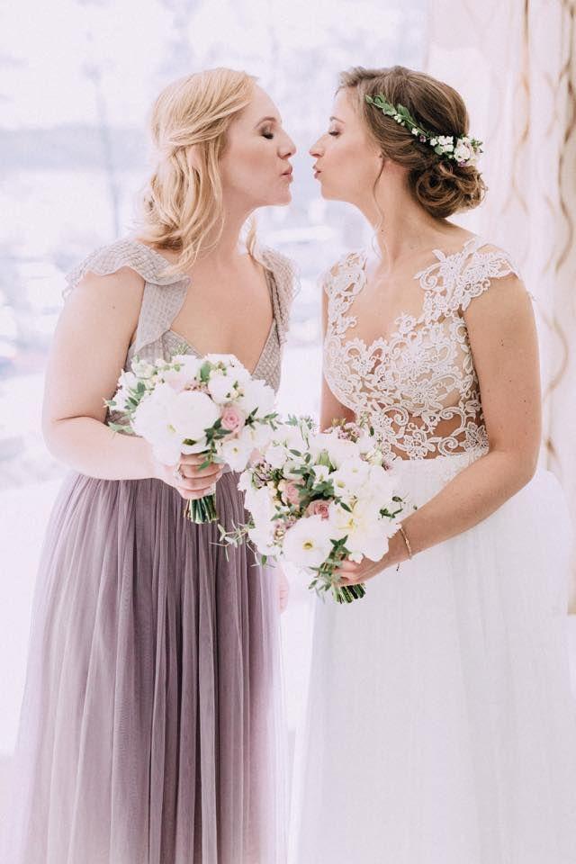 INNA Studio_bridal bouquet / bukiet ślubny / bukiet dla świadkowej / fot. Bajkowe Śluby