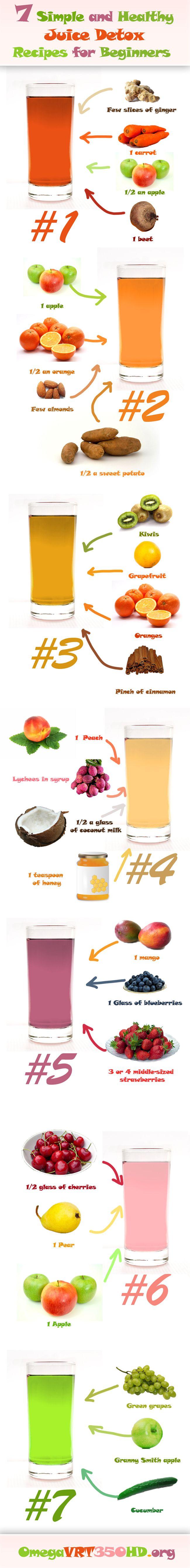 7 Simple Juice Fasting Recipes for Weight Loss and Detox https://omegavrt350hd.org/7-simple-juice-fasting-recipes-for-weight-loss-and-detox-infographic/  #kombuchaguru #juicing Also check out: http://kombuchaguru.com