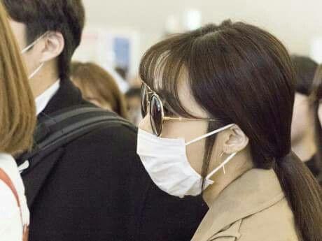 #Apink at Kansai Airport departing to Korea