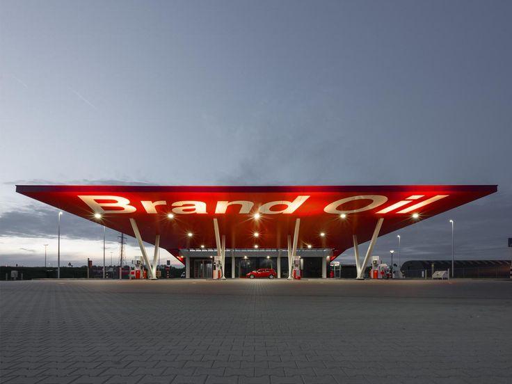 Maas Architecten » nieuwbouw tankstation zutphen