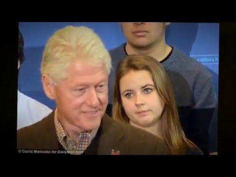 Bill Clinton's female 'fan club' backfires : Not working in Hillarys' fa...