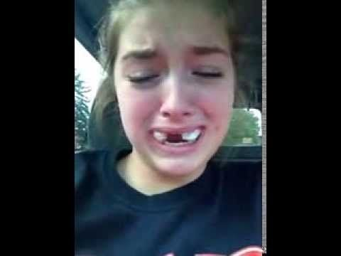 This Girl Coming Out Of Wisdom Teeth Surgery Is Devastated To Learn She Isn't A NASCAR Driver