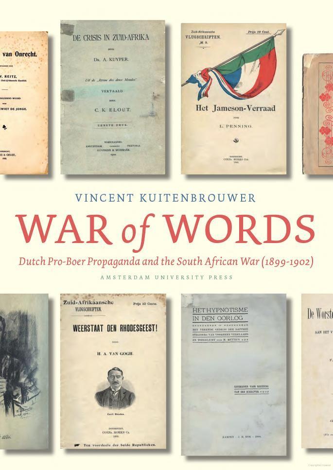 War of Words: Dutch Pro-Boer Propaganda and the South African War (1899-1902) - Vincent Kuitenbrouwer - Google Books