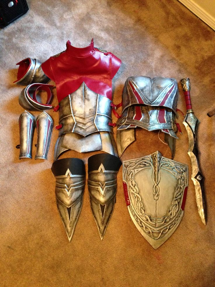 Lady Sif armor by reddit user Xorf