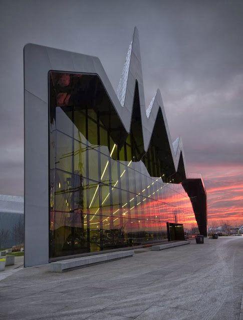 Riverside Museum - Glasgow, Scotland  #architecture ☮k☮