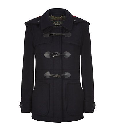 Barbour Wool Buttermere Duffle Coat in Navy available to buy at Harrods. Shop Barbour online & earn reward points. Luxury shopping with Free UK Returns.