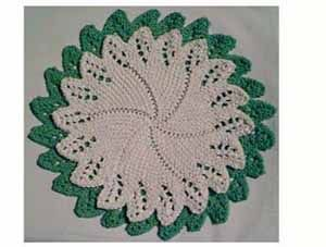 208 best dish cloths and wash cloths images on pinterest circular facecloth with lace edging free pattern thanks dt1010fo