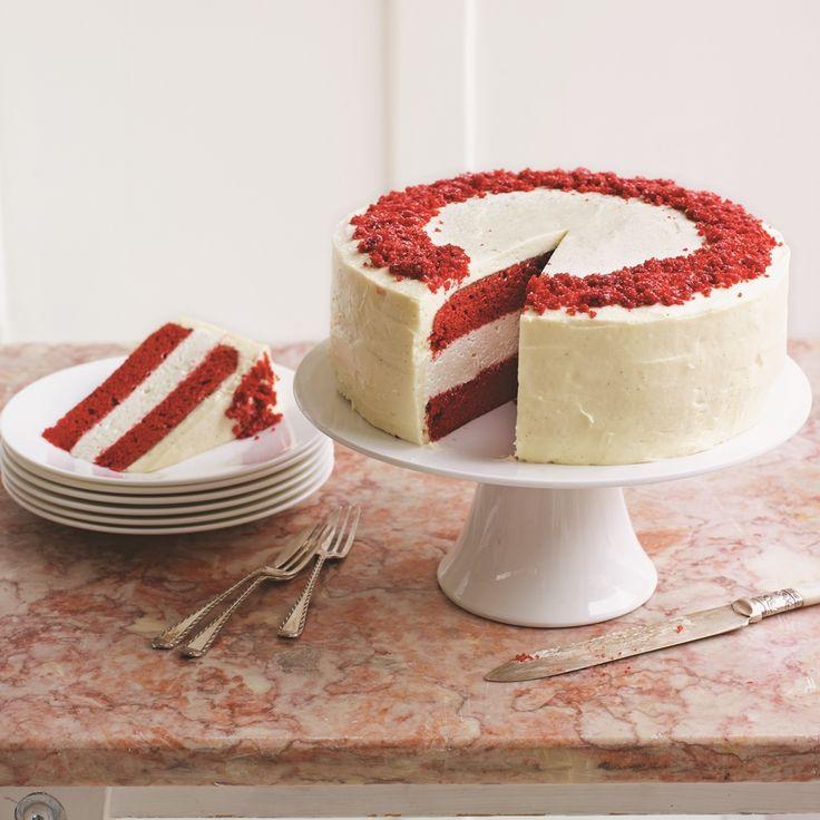 Eric Lanlard Red Velvet Cake