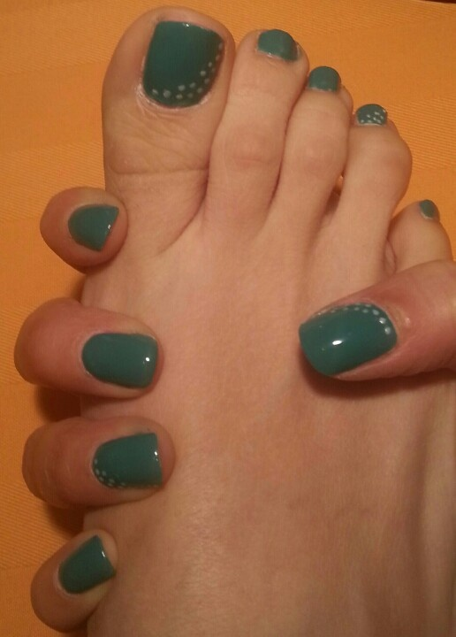 My Green hands & feet