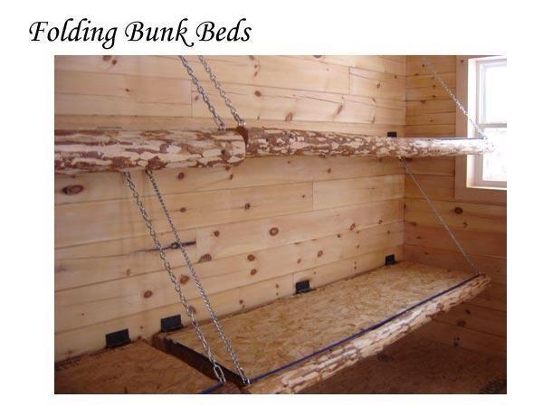 Idea For Diy Fold Up Bunks In Cabin In 2020 Mit Bildern