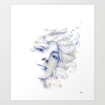 Goddess: Air Art Print by Stephane Lauzon - $15.00