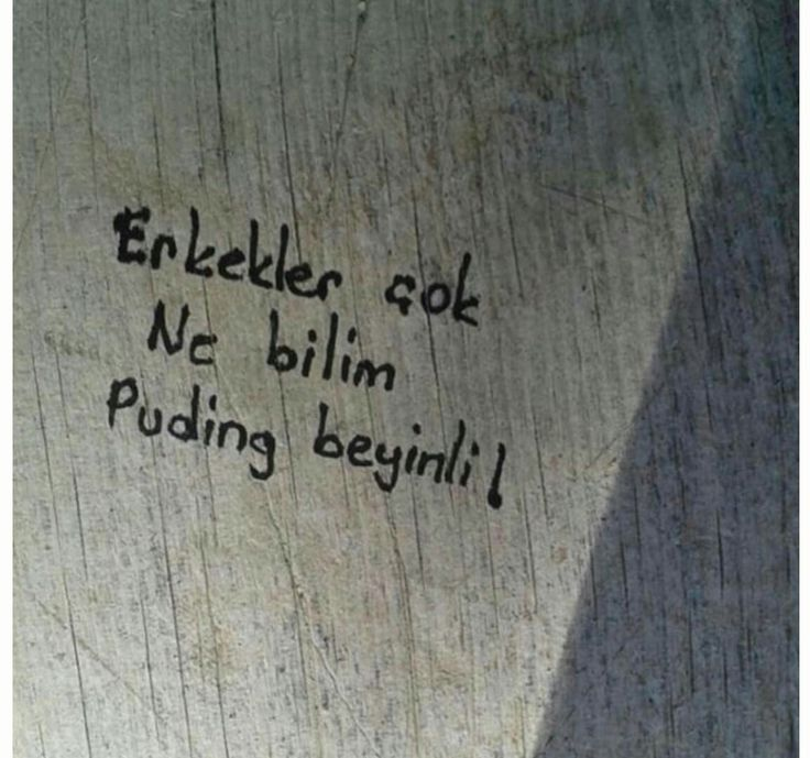 Duvardan yazılar