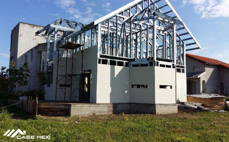 Casa Moderna, construita pe Structura Metalica Usoara