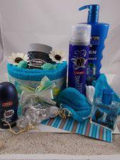 Geschenk, Geschenk Set, Kerze, Bodylotion, Körperpflege, Mann, After Shave, Ras…