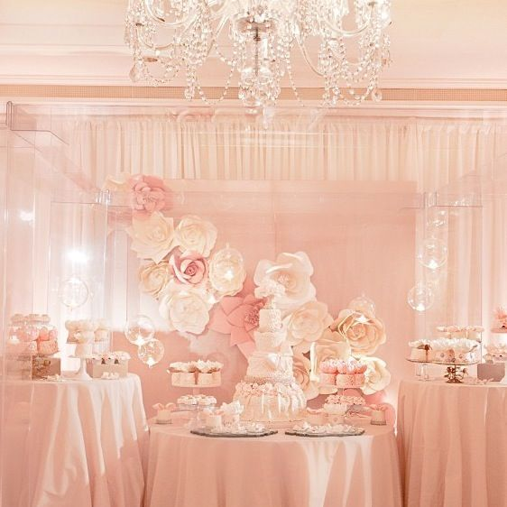 Wedding Dessert Table Backdrop: 125 Best Images About Ivory, Gold, Peach Wedding On