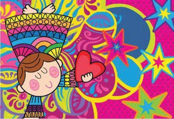 CUPIDO | desenhos coloridos | Pinterest