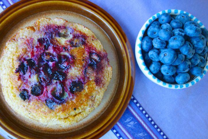 Blueberry Paleo Pancakes - I Quit Sugar