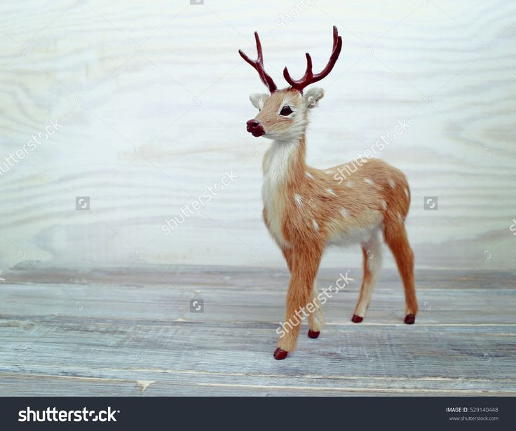 Deer Christmas toy